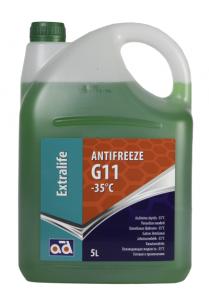 Охлаждающая жидкость Antifreeze AD -35°C G11 Green