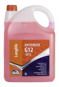 Охлаждающая жидкость Antifreeze AD -35°C G12 Red
